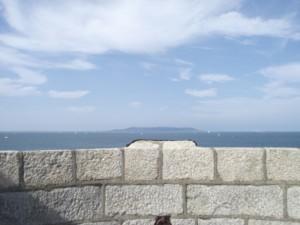 Vista dal tetto della torre